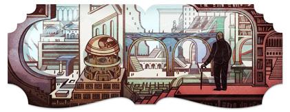 112η επέτειος γέννησης του Jorge Luis Borges