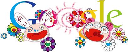 Πρώτη ημέρα του Καλοκαιριού. Doodle από τον Takashi Murakami, 2011