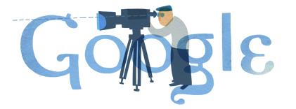 Google Logo: Theo Angelopoulos' 77th birthday - Greek filmmaker