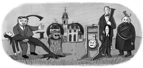 100η επέτειος γέννησης του Τσάρλς Άνταμς. Ευγενική χορηγία του Ιδρύματος Tee & Charles Addams.