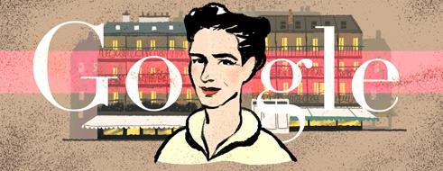 106α γενέθλια της Σιμόν Ντε Μποβουάρ