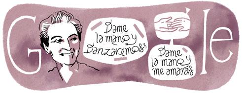 126η επέτειος γέννησης της Γκαμπριέλα Μιστράλ