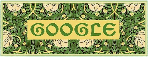 182η επέτειος από τη γέννηση του William Morris