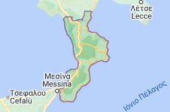 Χάρτης του/της Καλαβρία