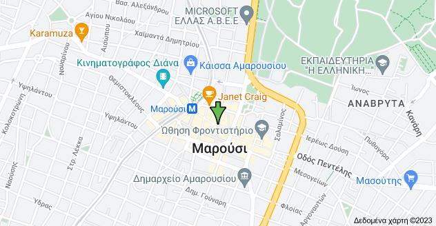 Χάρτης του/της Νικ. Πλαστήρα και Ερμού, Μαρούσι 151 24