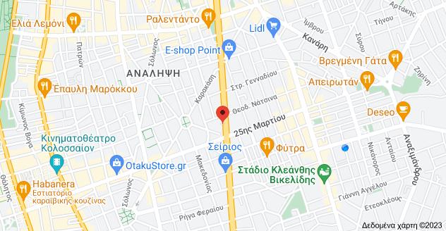 Χάρτης του/της Λεωφ. Κωνσταντίνου Καραμανλή 142, Θεσσαλονίκη 542 48