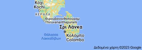 Χάρτης του/της Σρι Λάνκα