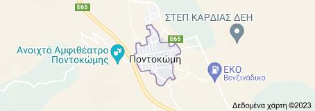 Χάρτης του/της Ποντοκώμη Ελλάδα