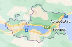 Χάρτης του/της Δήμος Βόλβης Ελλάδα
