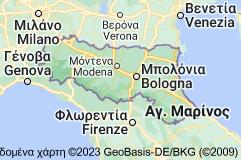 Χάρτης του/της Εμίλια-Ρομάνια