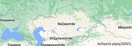 Χάρτης του/της Καζακστάν